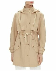 Sandro Orlane Hooded Coat