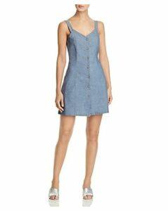 Vero Moda Samantha Organic Cotton Chambray Dress