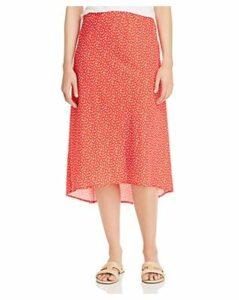 Charlie Holiday Penelope Floral-Print Midi Skirt