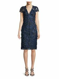 Sequin Lace Texture Dress