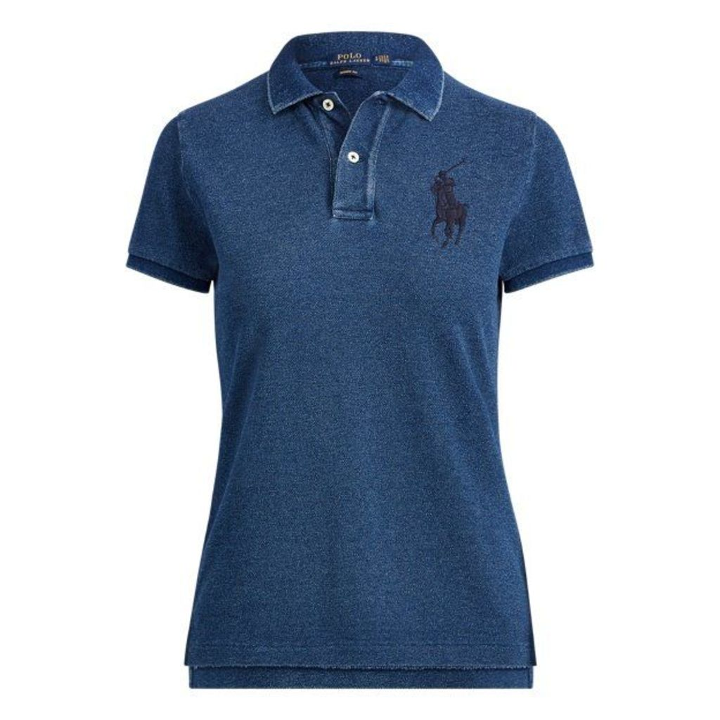 Skinny Fit Big Pony Polo Shirt