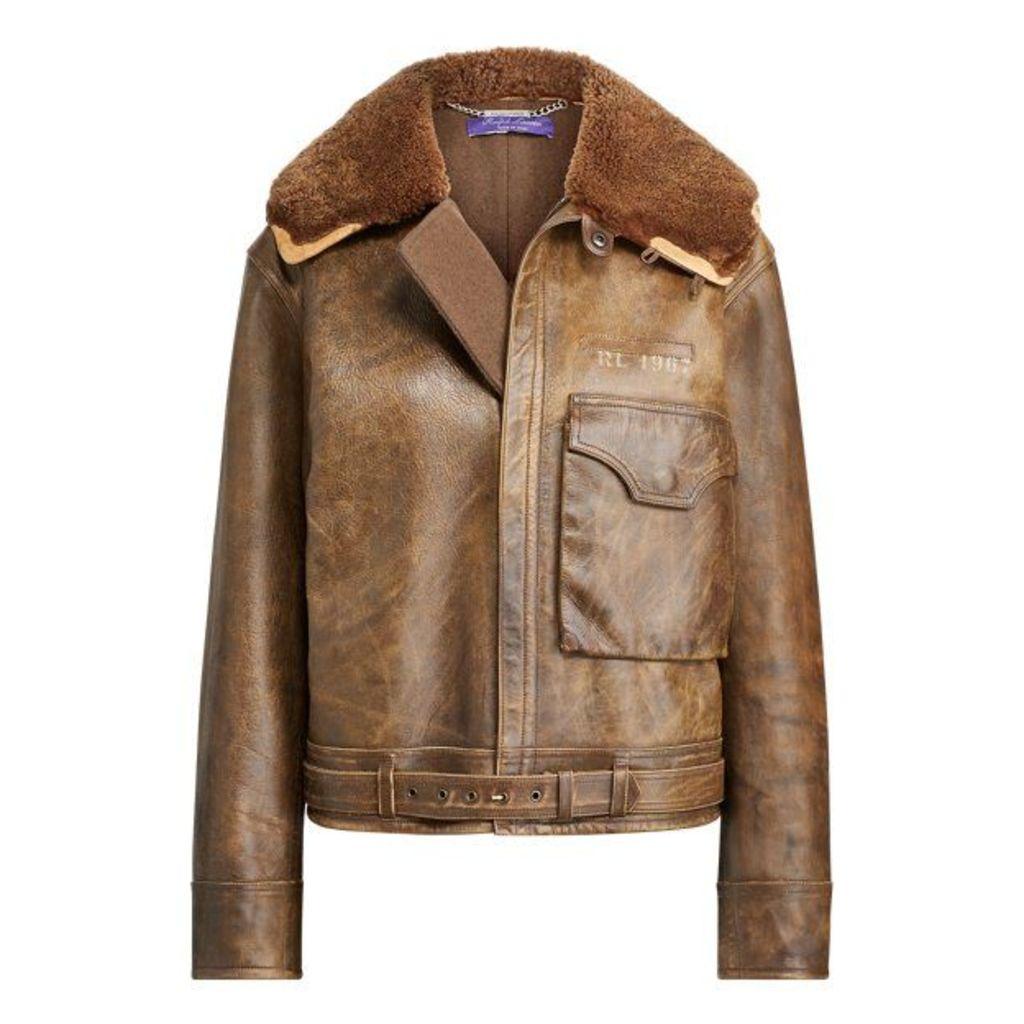 Grayden Leather Coat