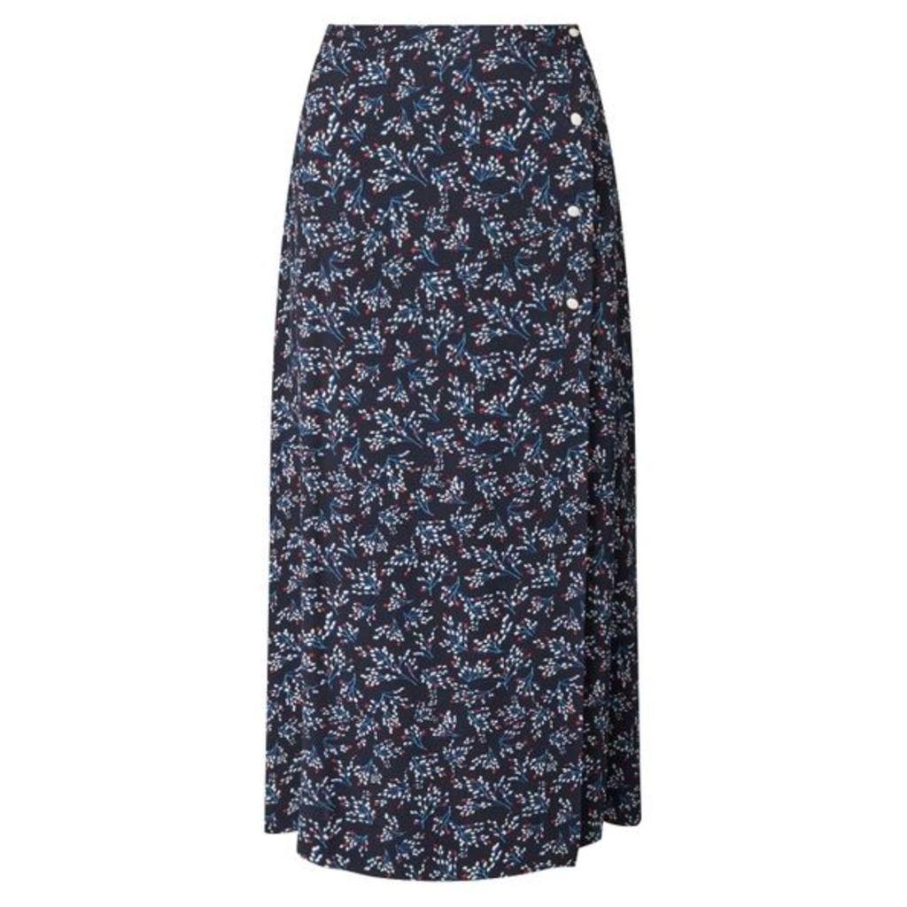 Jigsaw Sophelia Midi Wrap Skirt