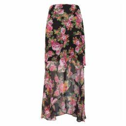 KEEPSAKE Oblivion Floral Georgette Skirt