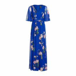 Adrianna Papell Long Chiffon Dress