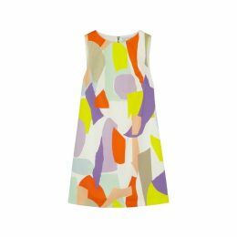 Alice + Olivia Clyde Printed A-line Mini Dress