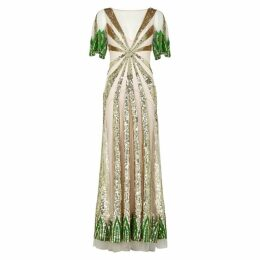 Temperley Sycamore Sequinned Tulle Gown