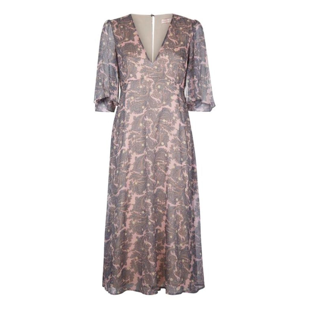 Traffic People Plm Blithe Dress In Pink