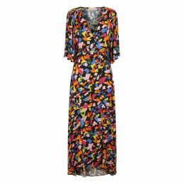 Traffic People Td Maxi Dress In Multicolour