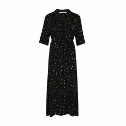 Gestuz Dorothie Polka-dot Midi Shirt Dress