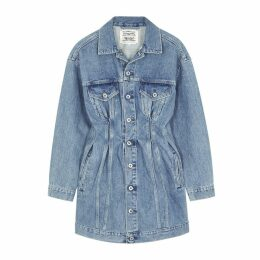 Levi's Made & Crafted Blue Denim Mini Dress