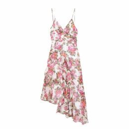 KEEPSAKE Oblivion Floral Georgette Midi Dress