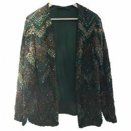Glitter cardi coat
