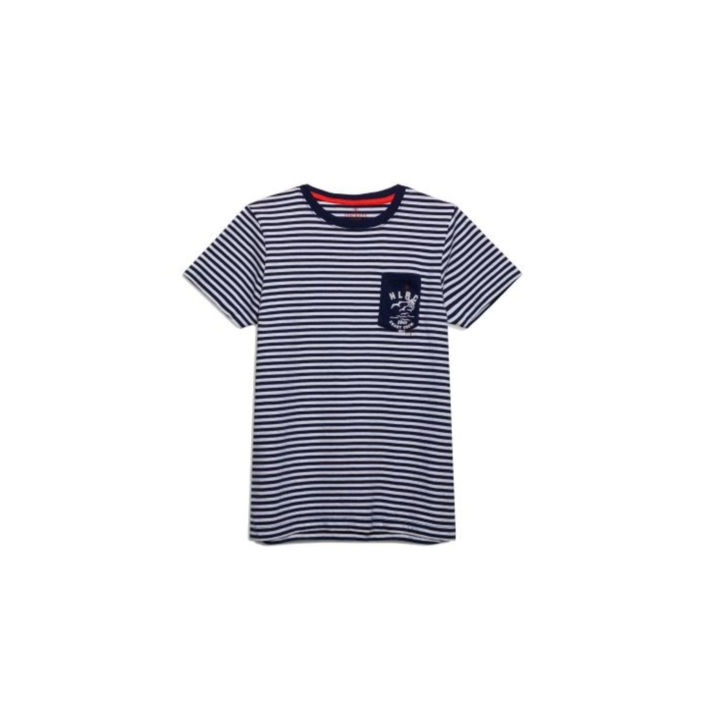 Hackett Stripe Crew T-shirt