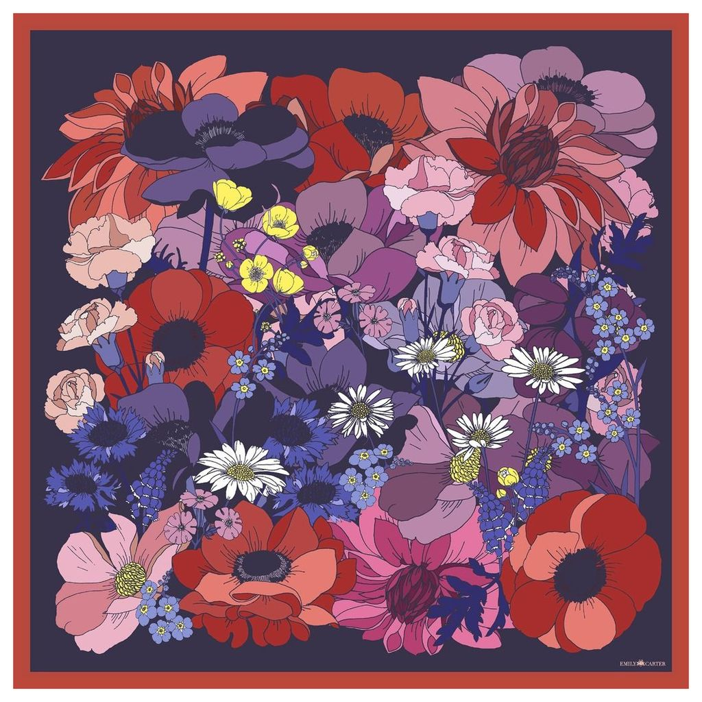 Emily Carter - The English Garden Scarf - Rose