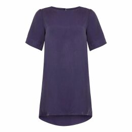 Libelula - Silky Top Salmon Flower Splat Print