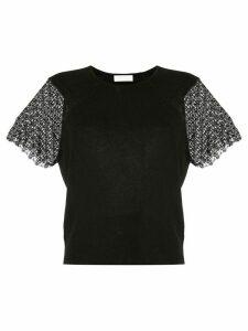 Ballsey embroidered blouse - Black