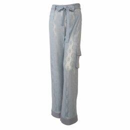 NASON - Miller Silk Micro Animal Print Maxi Dress