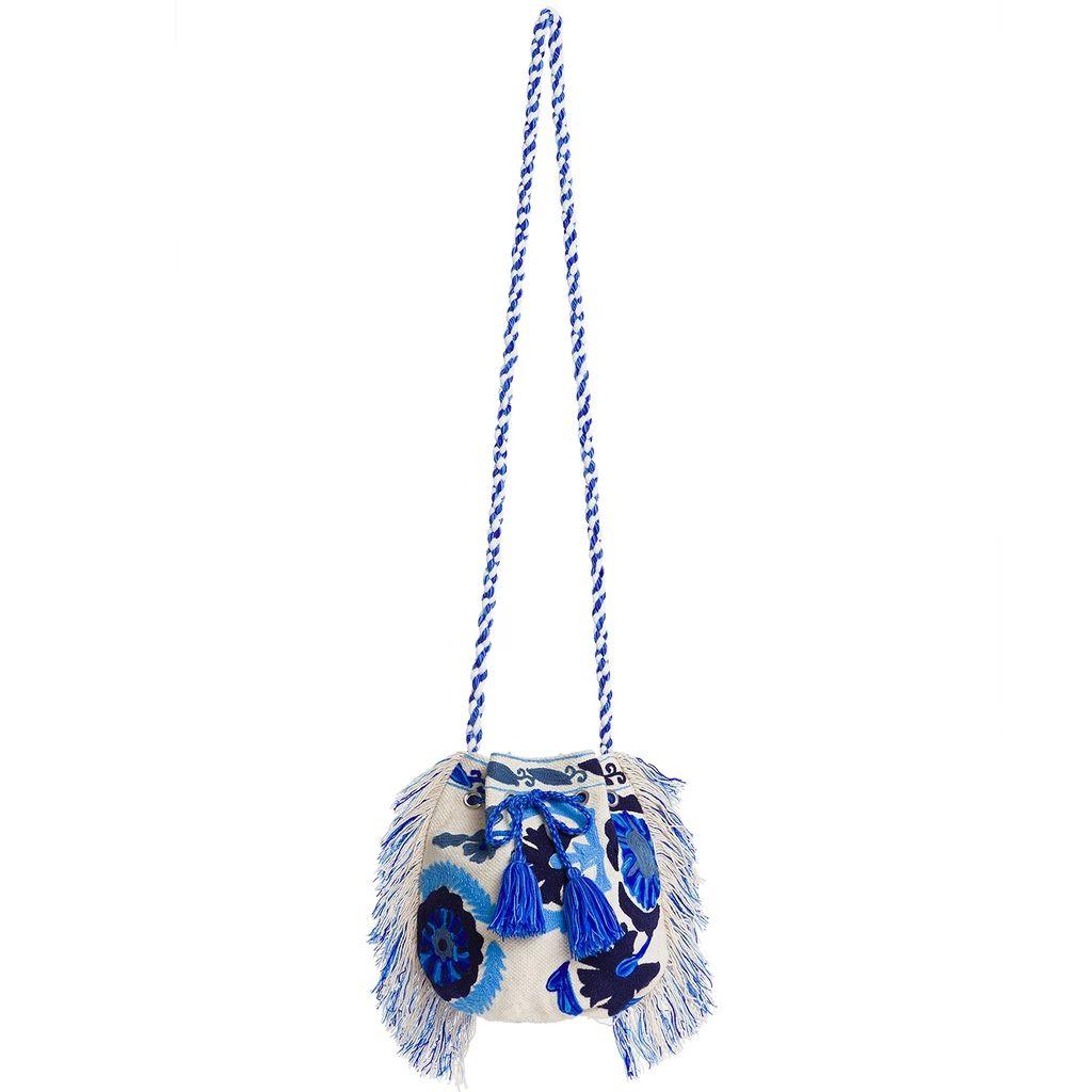Roses Are Red - Estelle Silk Skirt In Purple