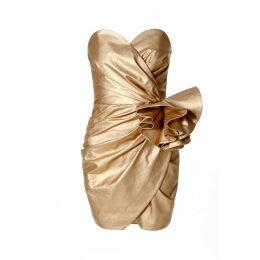 WtR - Phoebe Red Wavey Ruffled Mini Dress