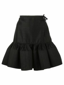 Marques'Almeida ruffle skirt - Black