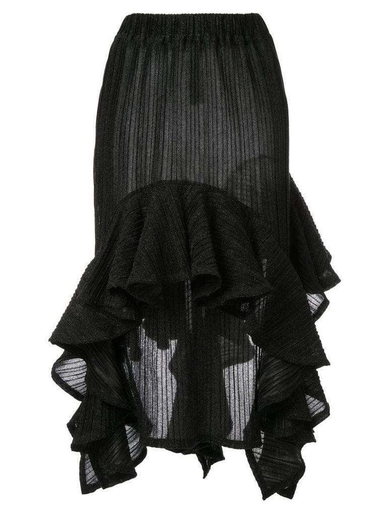 Romance Was Born sparkle flutter skirt - Black