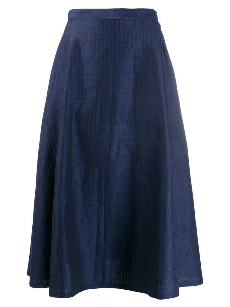 Junya Watanabe high-waisted skirt - Blue