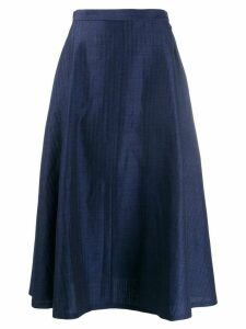 Junya Watanabe high-waisted skirt - Blue