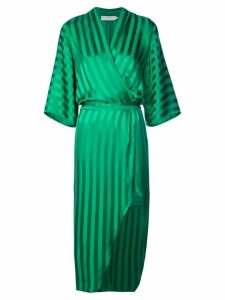 Michelle Mason kimono sleeve dress - Green