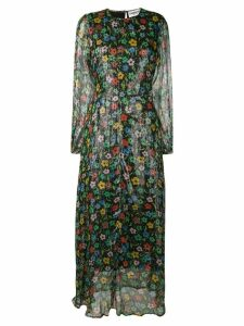 Essentiel Antwerp floral sequin maxi dress - Black