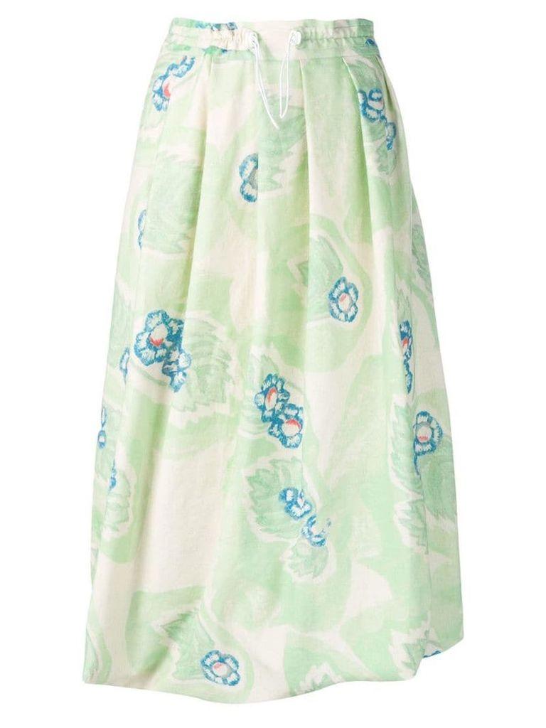 Anntian bubble hem skirt - Green