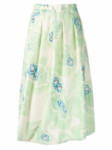Anntian bubble hem skirt - Green