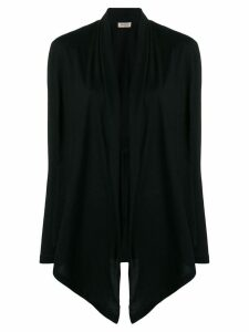 Blanca open front cardigan - Black