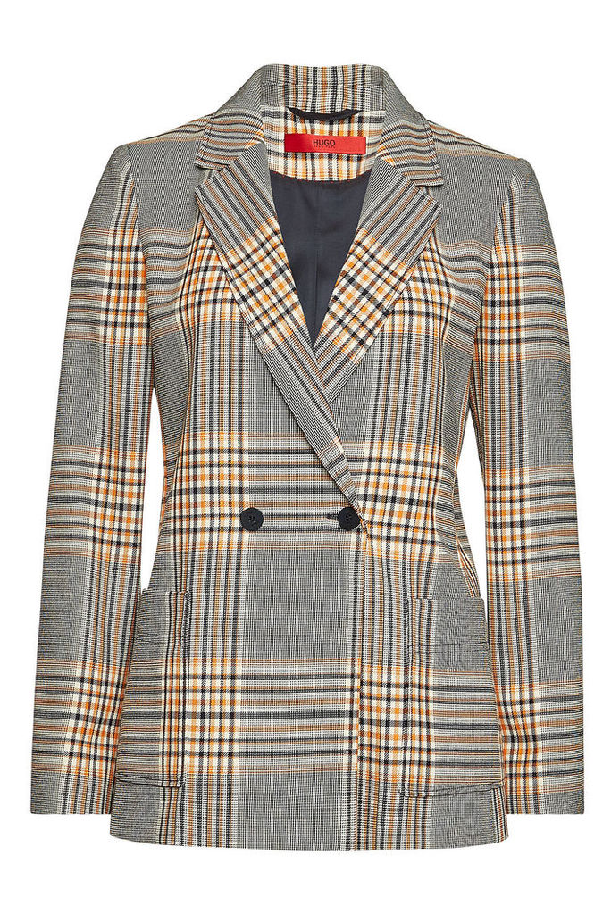 Hugo Ajanisa Checked Blazer