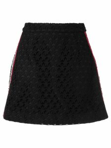 Guild Prime embroidered star skirt - Black