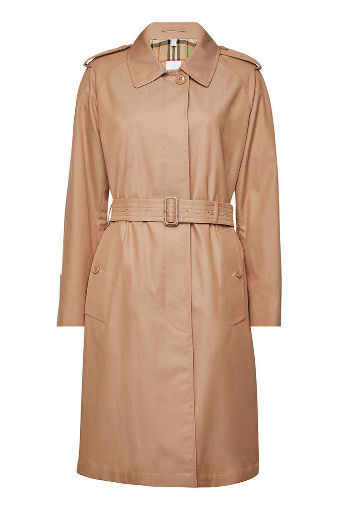 Burberry Crossway Cotton Trench Coat