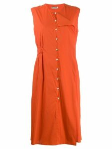 Aalto button-down dress - Orange