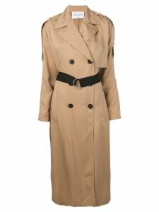 Sonia Rykiel belted trench coat - Neutrals