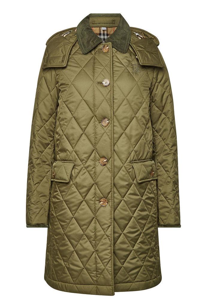 Burberry Dereham Quilted Coat