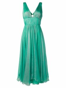 Maria Lucia Hohan empire line pleated dress - Green