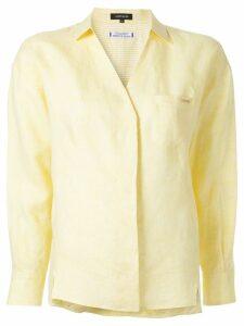 Loveless V-neck shirt - Yellow