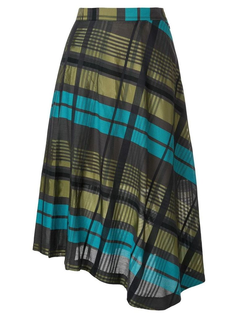 Loveless asymmetric hem skirt - Multicolour