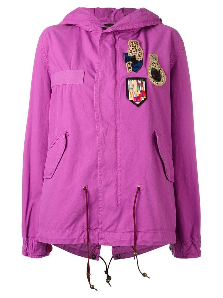 Mr & Mrs Italy Bouganville mini parka - Pink