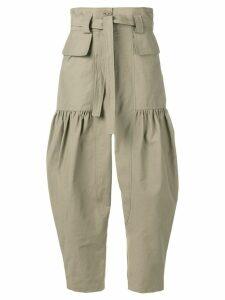 Stella McCartney balloon trousers - Green