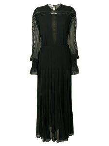 Philosophy Di Lorenzo Serafini eyelet trim dress - Black