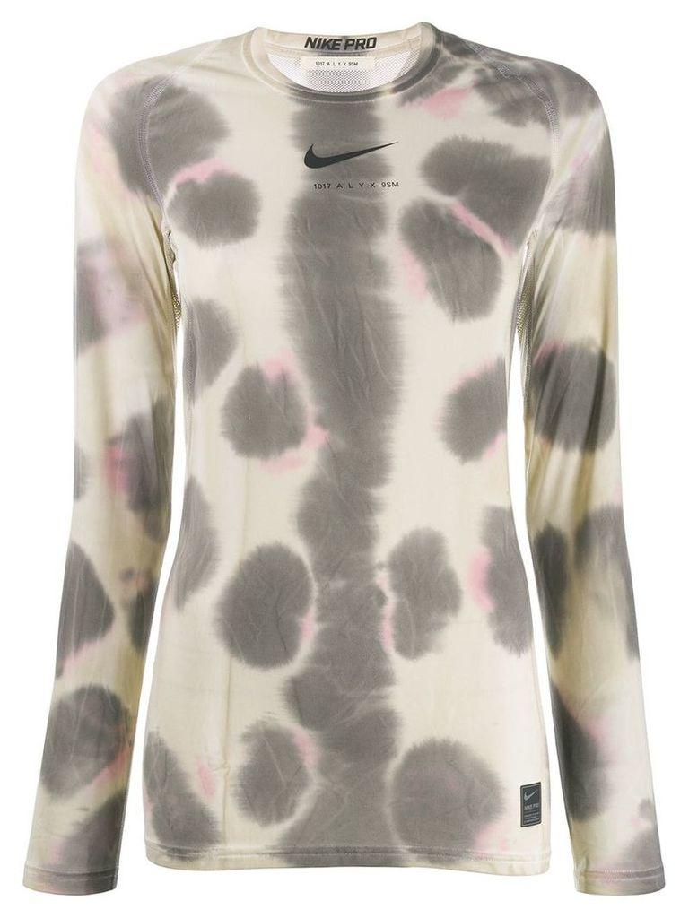 1017 ALYX 9SM Aly X Nike tie-dye top - Neutrals