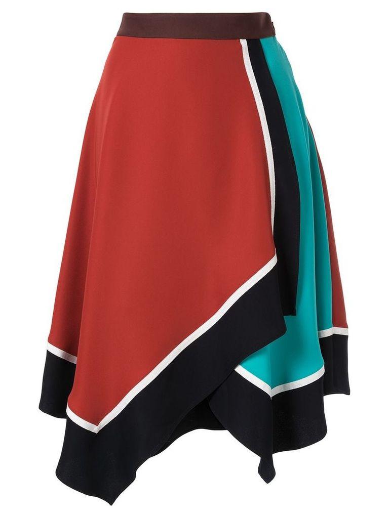 Loveless handkerchief hem skirt - Multicolour