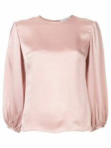Mansur Gavriel puff sleeve top - Pink