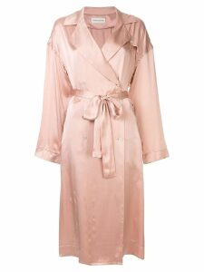 Mansur Gavriel classic trench - Pink