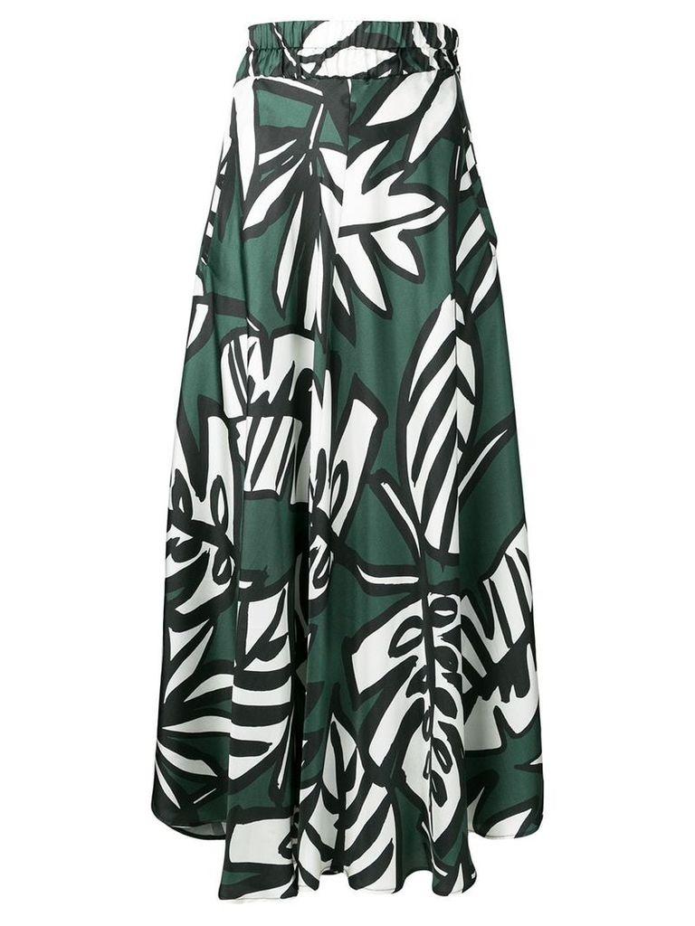 Altea plant print skirt - Green